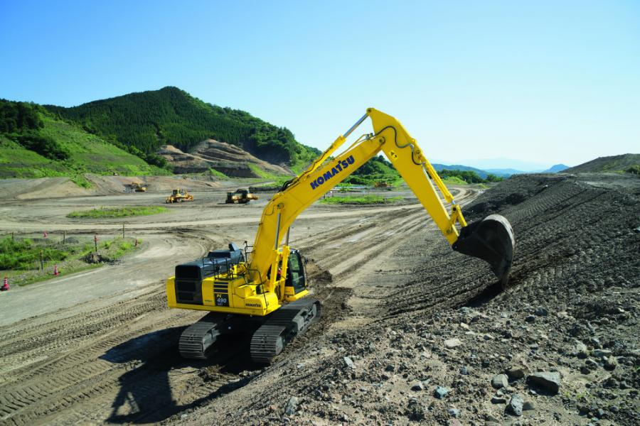 There will be nearly 25 Komatsu machines on display including brand new models as well as machines that have been recently introduced.