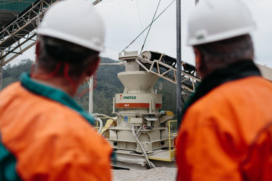 The new MX3 enables improved crusher productivity and lower operating costs with a design optimized especially for mid-sized quarrying. The MX3 will be on display for ConExpo-Con/AGG visitors at Metso's booth, C31531.