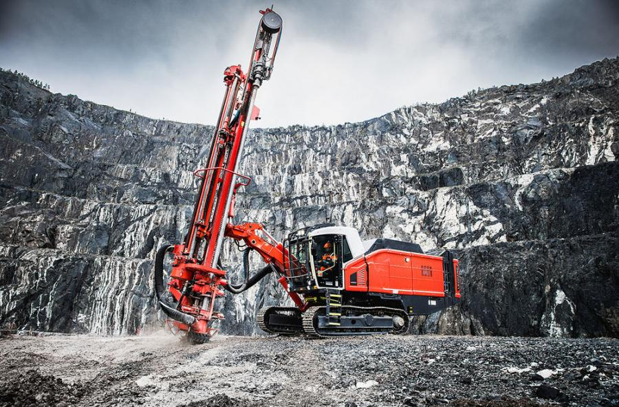 Leopard DI650i down-the-hole (DTH) drill rig is designed for demanding high-capacity production drilling applications in surface mining, as well as large-scale quarry applications.