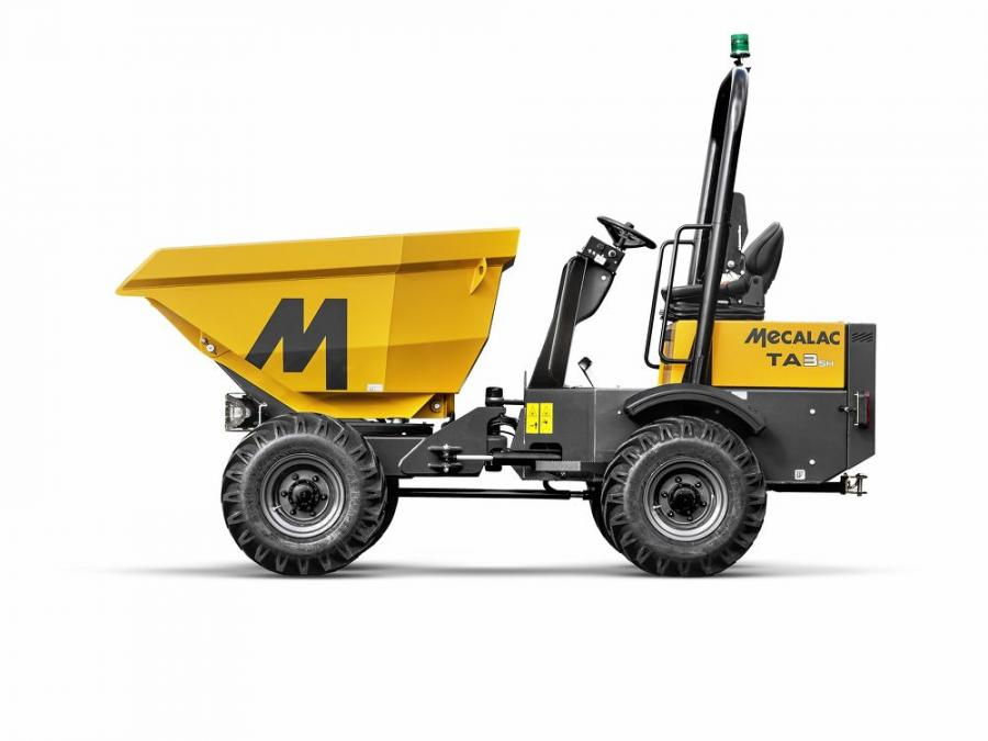 Mecalac's TA3SH is designed to deliver increased versatility and performance, especially on confined job sites, such as housing developments or landscaping projects.