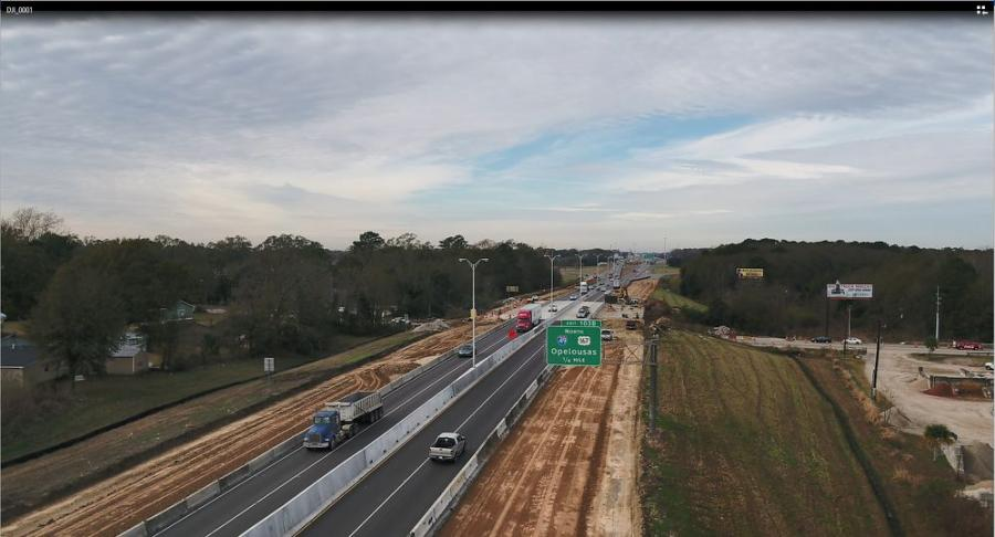Phase 3, awarded to Gilchrist Construction, is an $87.7 million project that will widen I-10 from four to six lanes between LA 328 in Breaux Bridge to LA 347 near Henderson.