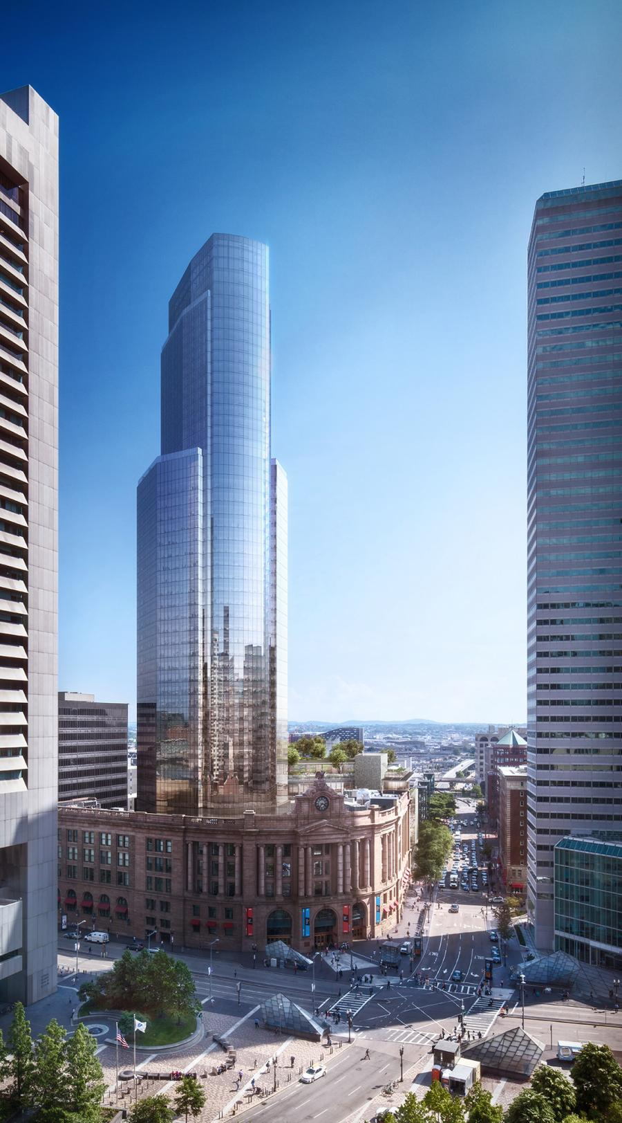 Anticipated for delivery in 2024, the first phase of the project will offer approximately 660,000 rentable square feet of Class AA office and retail space as well as approximately 166 residential condominium units and more than 500 parking spaces.