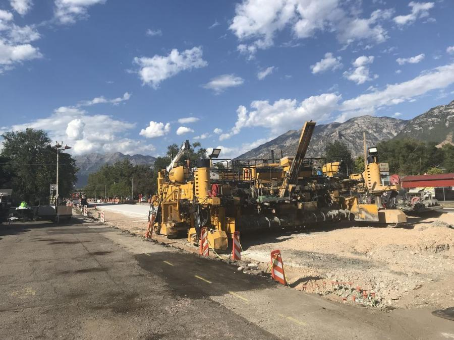 UDOT opted to go with concrete over asphalt because over time it has proven to be a better alternative, said Dave Gill, UDOT resident engineer.