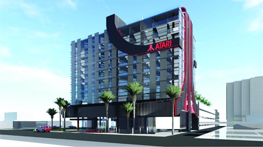 The first-of-its-kind, Atari Hotel will break ground in 2020 in Phoenix. (Atari Inc. photo)