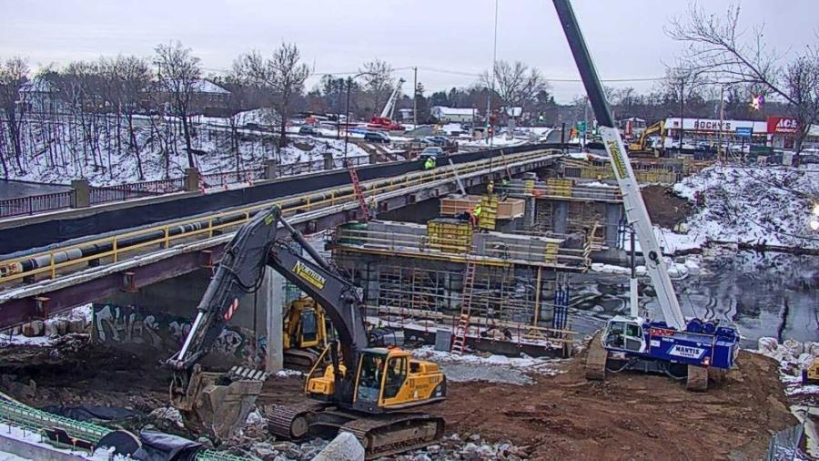 Peak days have nearly 35 NCS and subcontractor workers on site.