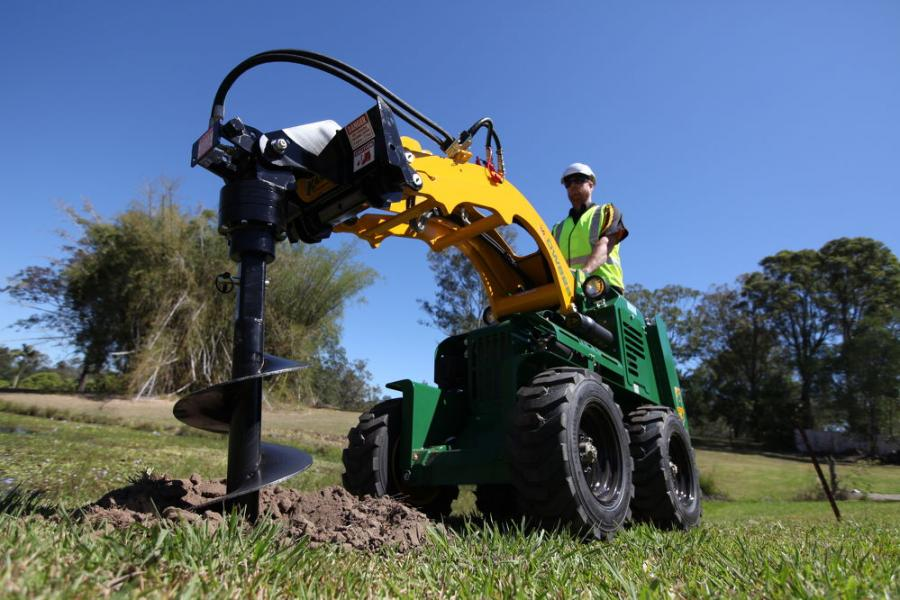 The Kanga Utility Loader is ideally-suited to the rental market with safer operation, handling and operator protection at the core of its design.