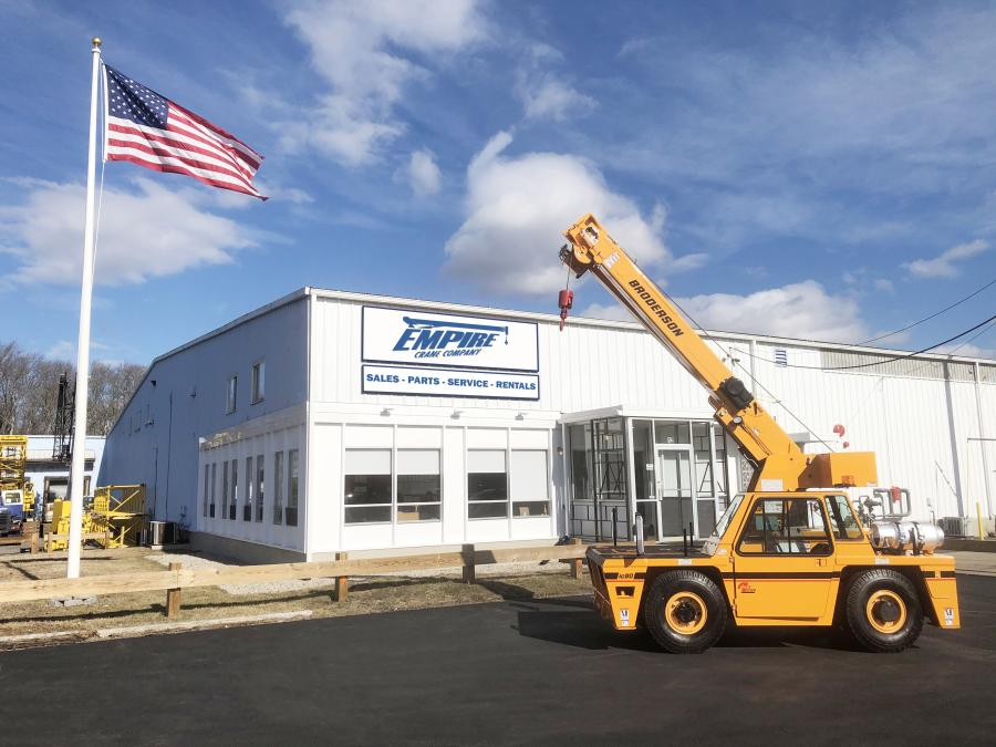 Empire Crane Company has been announced as a dealership of Broderson Manufacturing Corporation's full line of carry deck industrial cranes. It will be stocking new units for customers in upstate New York, Maine, Massachusetts and Rhode Island.