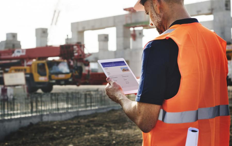 Many equipment fleet managers are integrating software apps in conducting machine inspections to avoid the operator or equipment technician having to drag a laptop and camera to the equipment. (Snappii photo)
