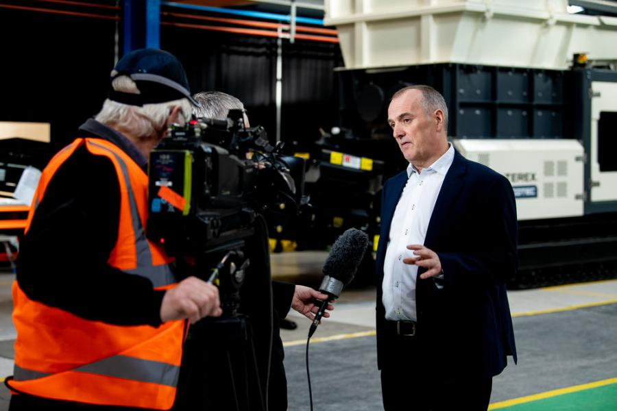 Kieran Hegarty, president Terex MP, said the MP team continues to expand its penetration into emerging markets for environmental and mobile crushing and screening equipment.