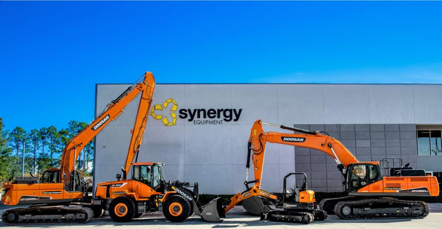 The new locations — in Florida, Georgia, Alabama and South Carolina — join three already established dealership locations with Synergy Equipment to create a 13-location, regional presence for Doosan Infracore North America.
