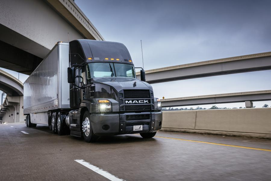 Mack Anthem day cab models are now SmartWay-certified by the U.S. Environmental Protection Agency (EPA).