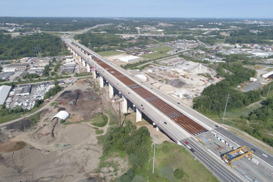 Solid progress is being made on the multi-year $227 million, design-build I-480 Valley View bridges deck replacement project in northeast Ohio.