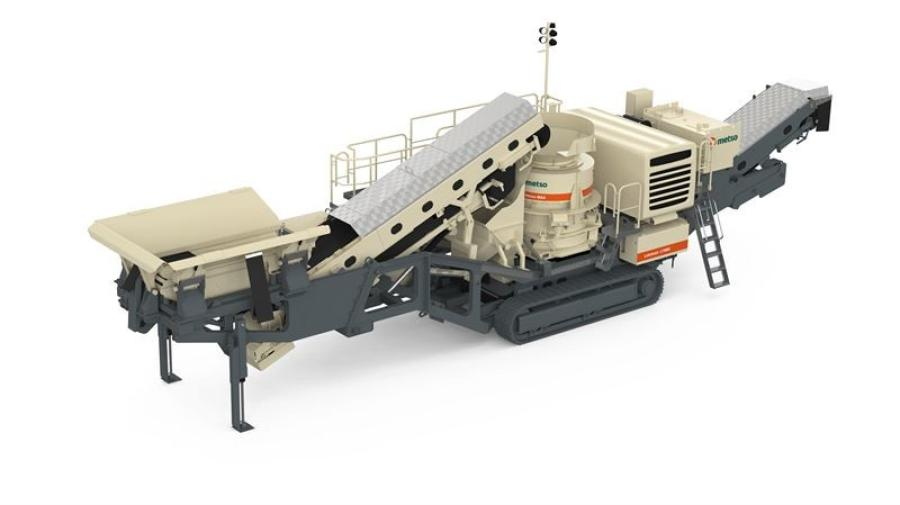 Special made-to-order edition Lokotrack LT4MXTM cone crusher featured at ConExpo CON/AGG 2020.
