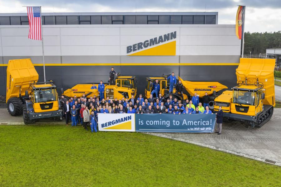 The entire Bergmann team is thrilled about the German-based manufacturer's foray into the U.S. equipment market.