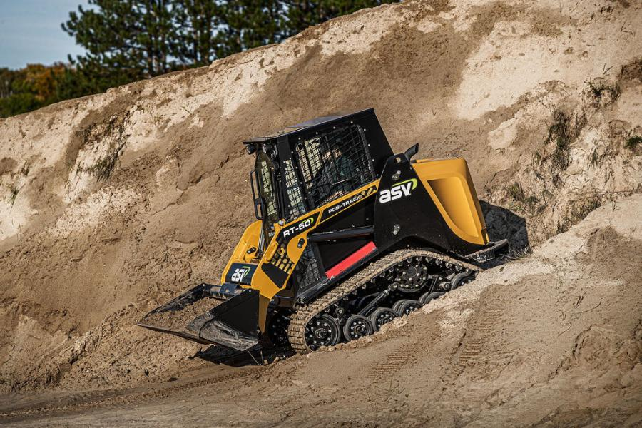The new loader features an industry-leading performance-to-weight ratio and joins the RT-25 and RT-40 — two of the industry's smallest sit-in compact track loaders — as a powerful, lightweight machine.