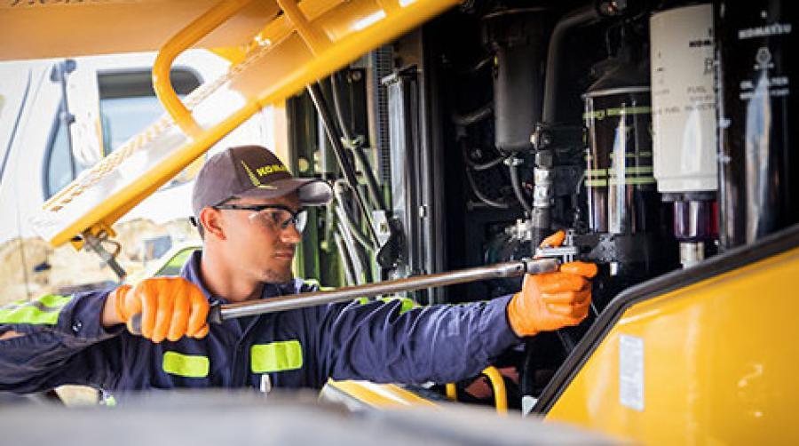 Under Komatsu Care Plus and Komatsu Care Plus II, repair and maintenance service can be performed by any authorized U.S. Komatsu distributor, regardless of where in the United States the machine was purchased.