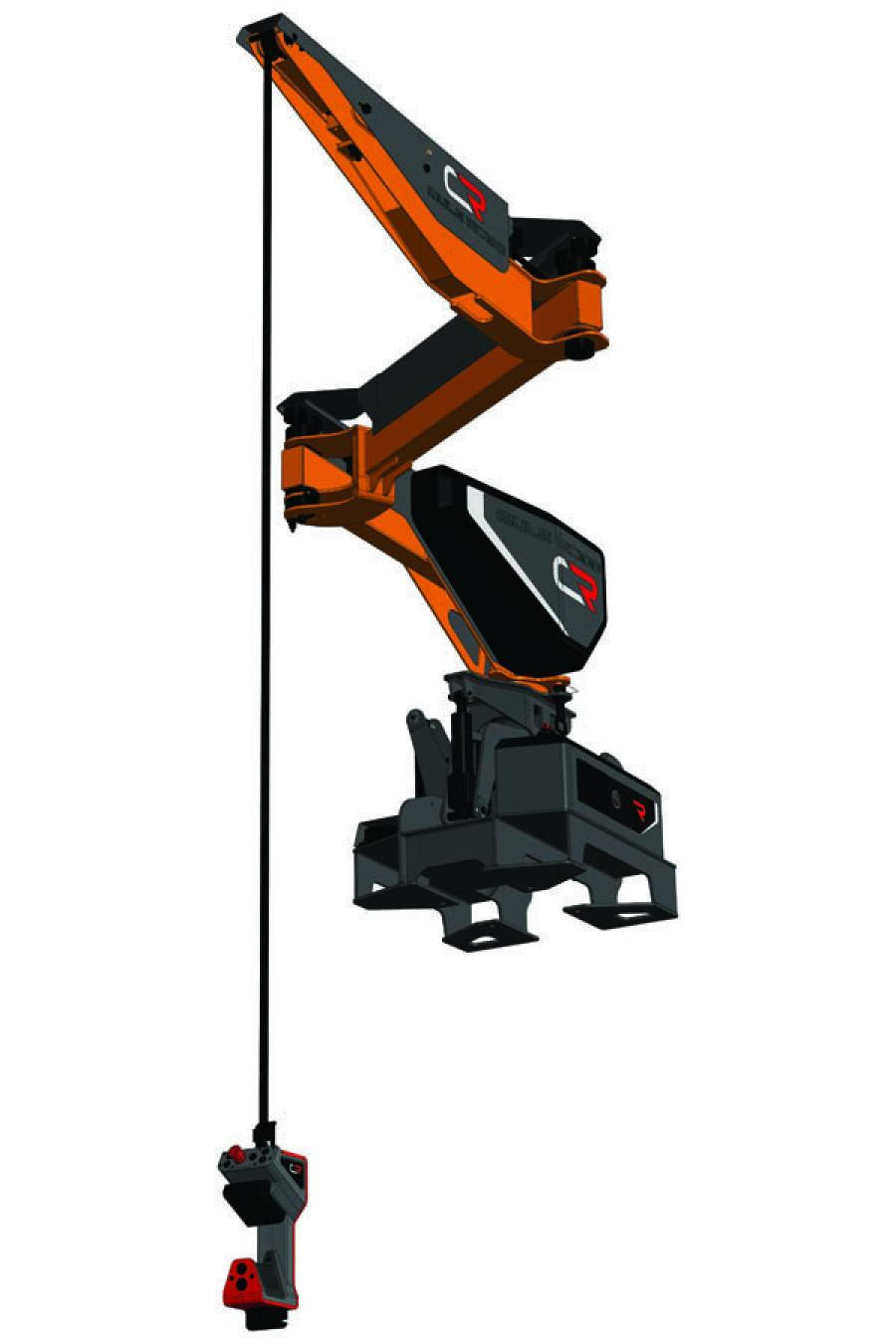 Construction Robotics launched its new MZ100, co-developed with JLG, the latest addition to the Mule product line. This product, which is a smaller, lighter weight version of the original Mule, is self-leveling, powered by a Lithium Ion battery and can be directly coupled to JLG and SkyTrak telehandlers, moving it from a static-based job site solution to a mobile one.