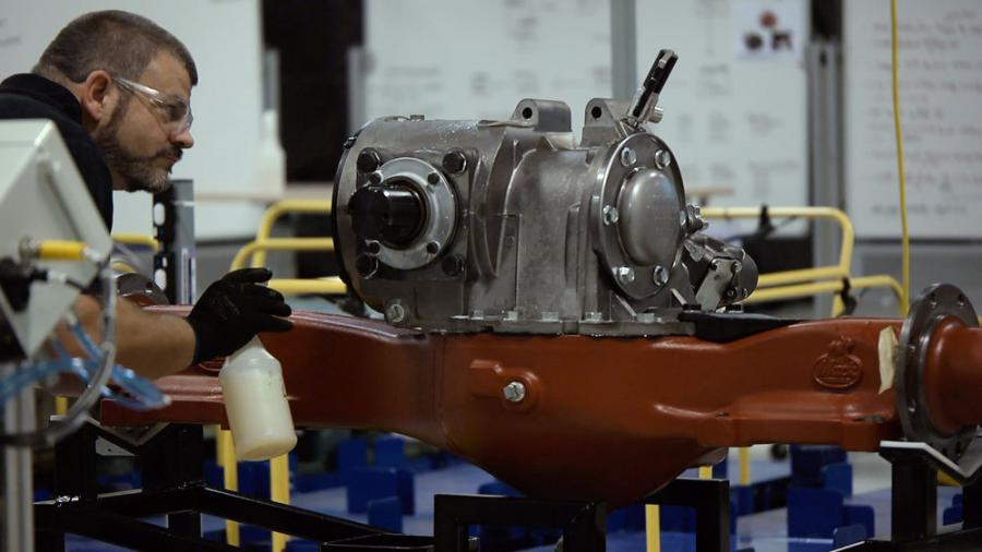 All Mack proprietary drive axles are built in the U.S. at Mack's Hagerstown, Md., powertrain facility.