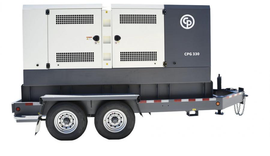 The CPG models are now equipped with a John Deere 9-liter, 6-cylinder Tier IV Final diesel engine. With a rated prime power of 330 kVA/264 kW, the CPG 330 runs at 390 hp.