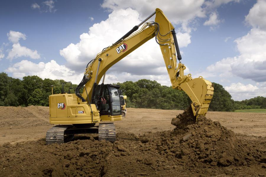The advanced hydraulic system of the new Cat 325 excavator provides the optimum balance of power and efficiency while giving the operator complete control of excavating precision.