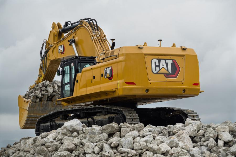 A key driver to the 395's production is a new dedicated hydrostatic swing circuit — a feature found only on larger Cat mining shovels like the 6015B.