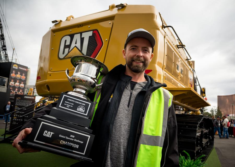 In the end, Jaus Neigum of Canada, the Americas West champion, was crowned the best of the best, Global Operator Challenge Champion with an overall low-time score of 16:28 for all three events.