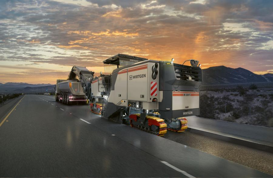 Like all models in the new generation of Wirtgen's large milling machines, the flagship W 220 Fi also is setting new standards in performance and machine efficiency.