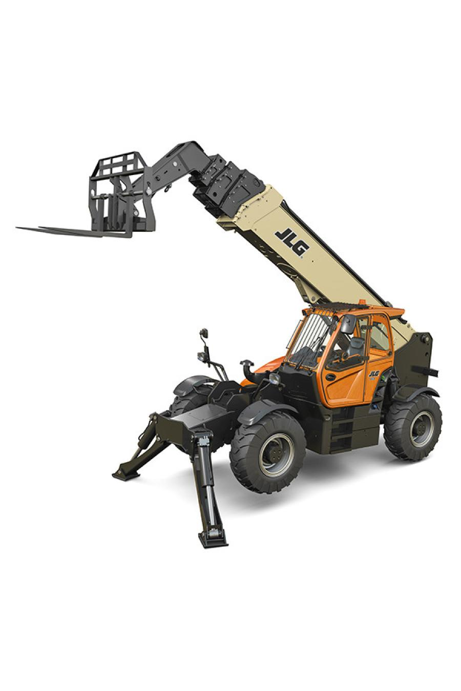 The JLG 1075 was developed as a result of customer input, requesting a 10,000-lb. class telehandler with greater height and reach. The new model features a 75-ft. boom that can lift up to eight stories – a full two stories more than comparable models – and offers a 60-ft. reach.