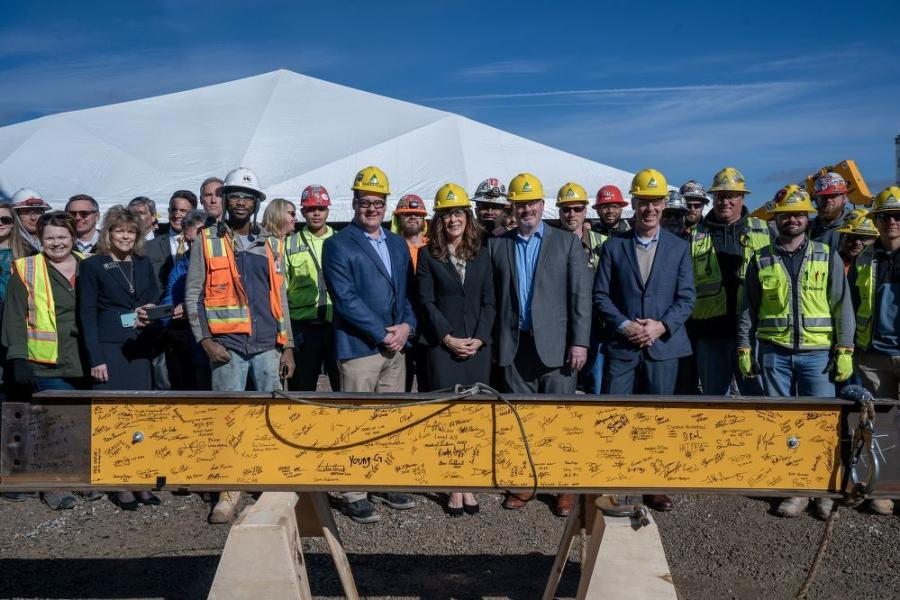 Chris Kelner, national director of preconstruction, said that Kiewit has added hundreds of employees in Colorado in the last year to meet demand, and he doesn't expect that to slow anytime soon.