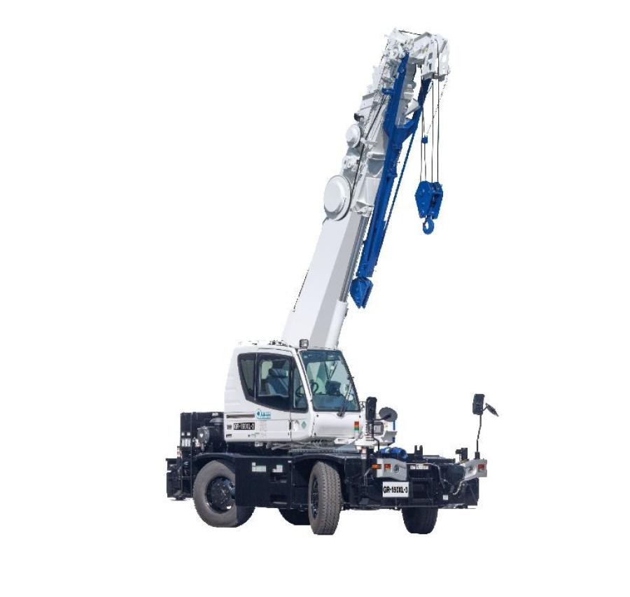 The GR-150XL-3 was designed with the obstacles of urban environments and congested plants in mind and includes a new operator cab with improved visibility and an underslung hydraulic offset jib for easy operation.