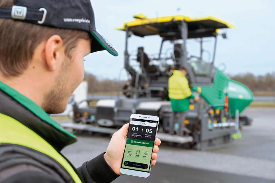WITOS Paving Docu is aimed squarely at contractors who want to record and analyze more than just paving temperature, but don't need the full range of WITOS Paving Plus functions, which includes process optimization and integrated planning.