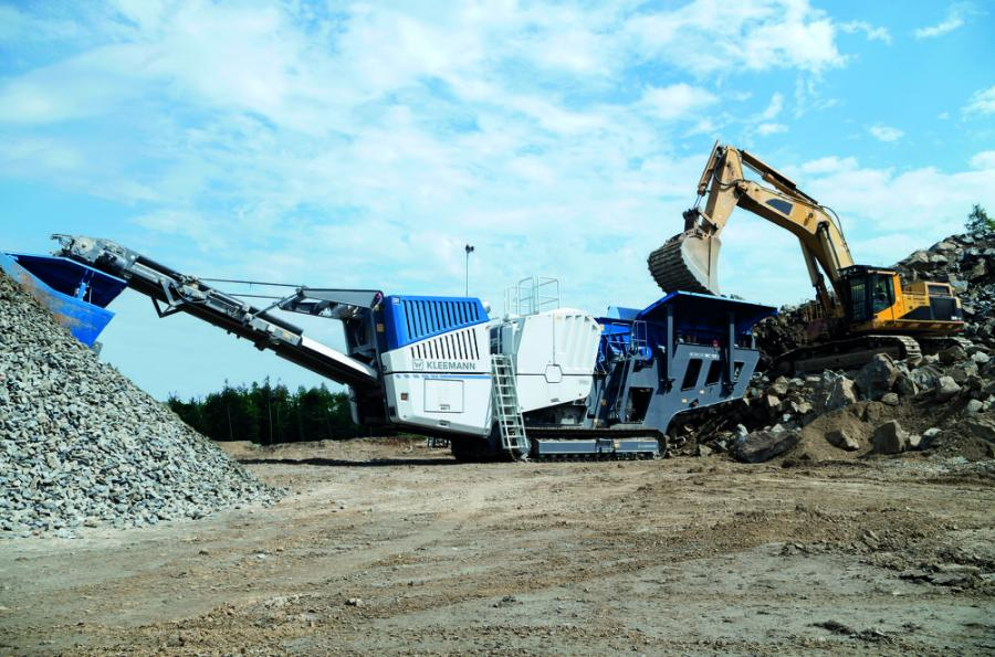 With the MOBICAT MC 120 Zi PRO, Kleemann offers a new mobile jaw crushing system for challenging quarrying operations.