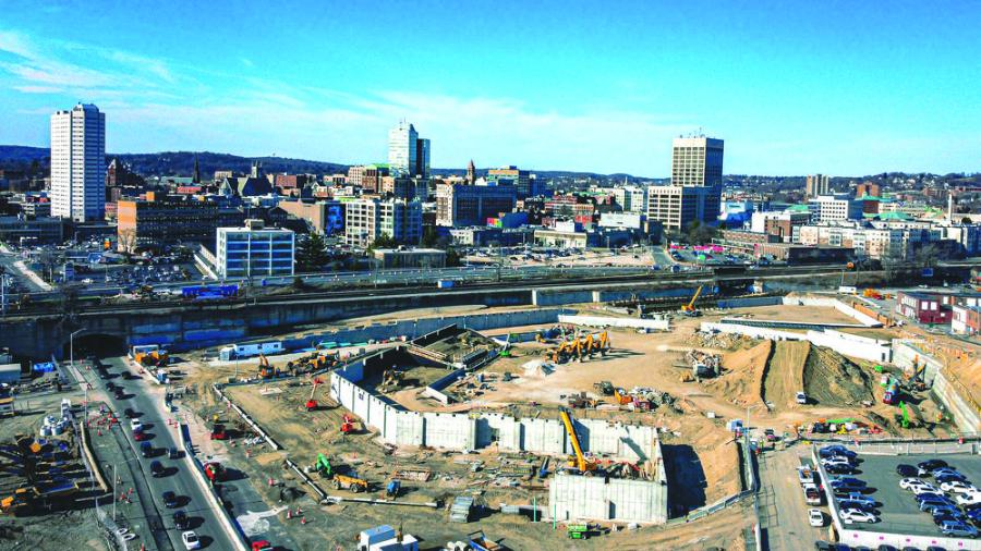 The development in Worcester's Canal District is based on a partnership uniting the city of Worcester, the Pawtucket Red Sox, Madison Downtown Holdings LLC (MDH) and the Commonwealth of Massachusetts.