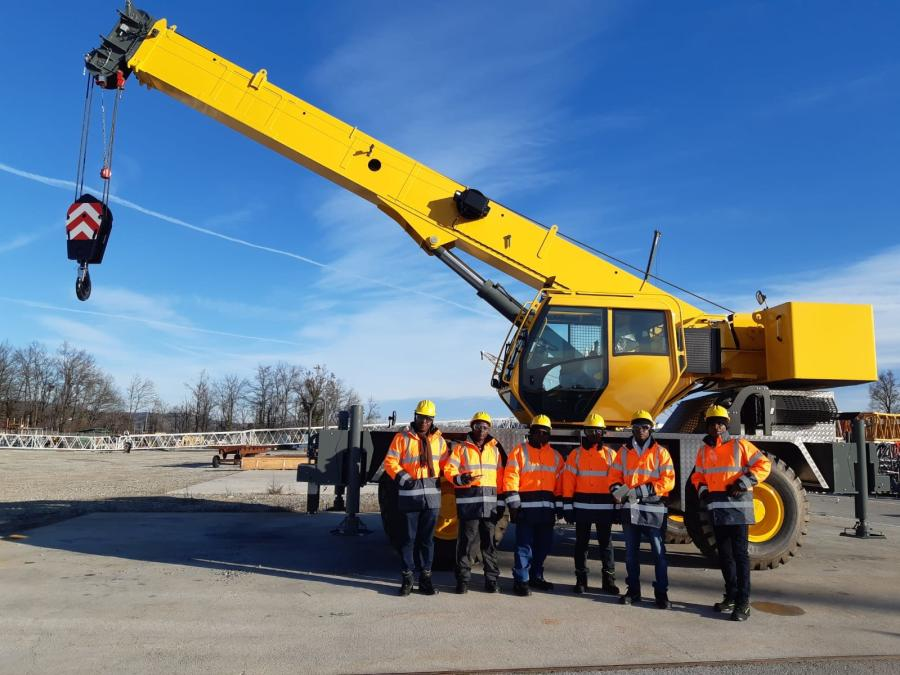 GPHA purchased the two RT530E-2 rough terrain cranes in January 2020 and is using them to handle general cargo at the Port of Tema, the largest ports in Ghana.