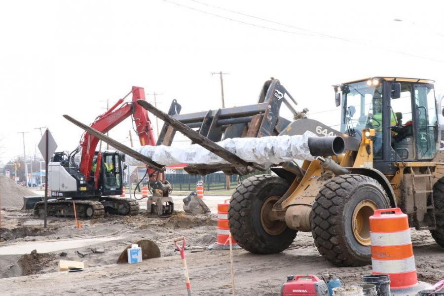 In Bowling Green, Ohio work is under way on the I-475 widening and Dorr Street interchange project.