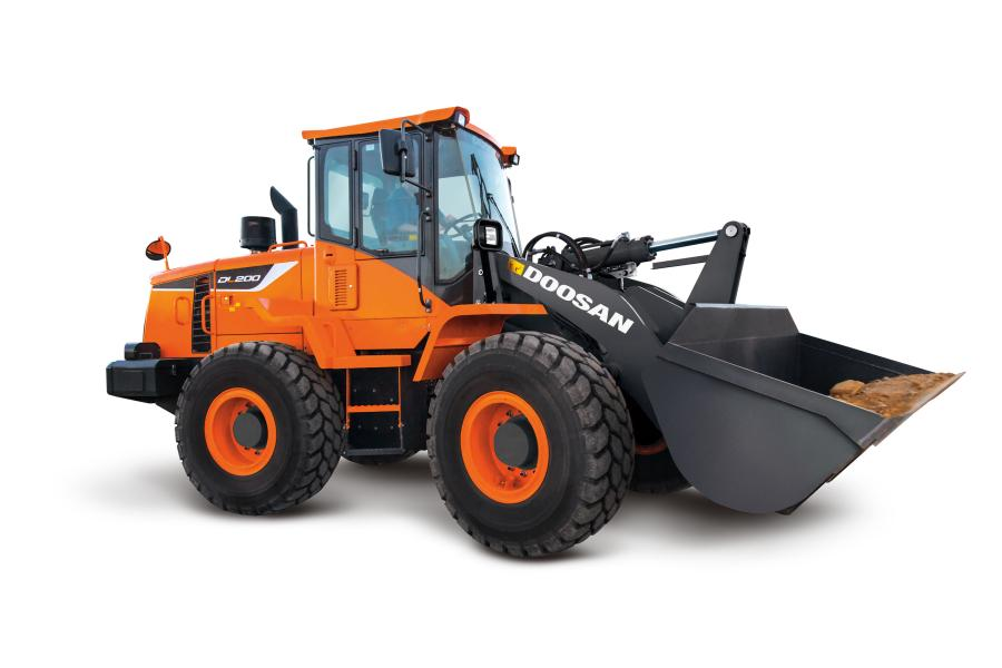 Doosan is developing the hybrid powertrain to offer the same size wheel loader with additional fuel savings from combining diesel and electric power sources.