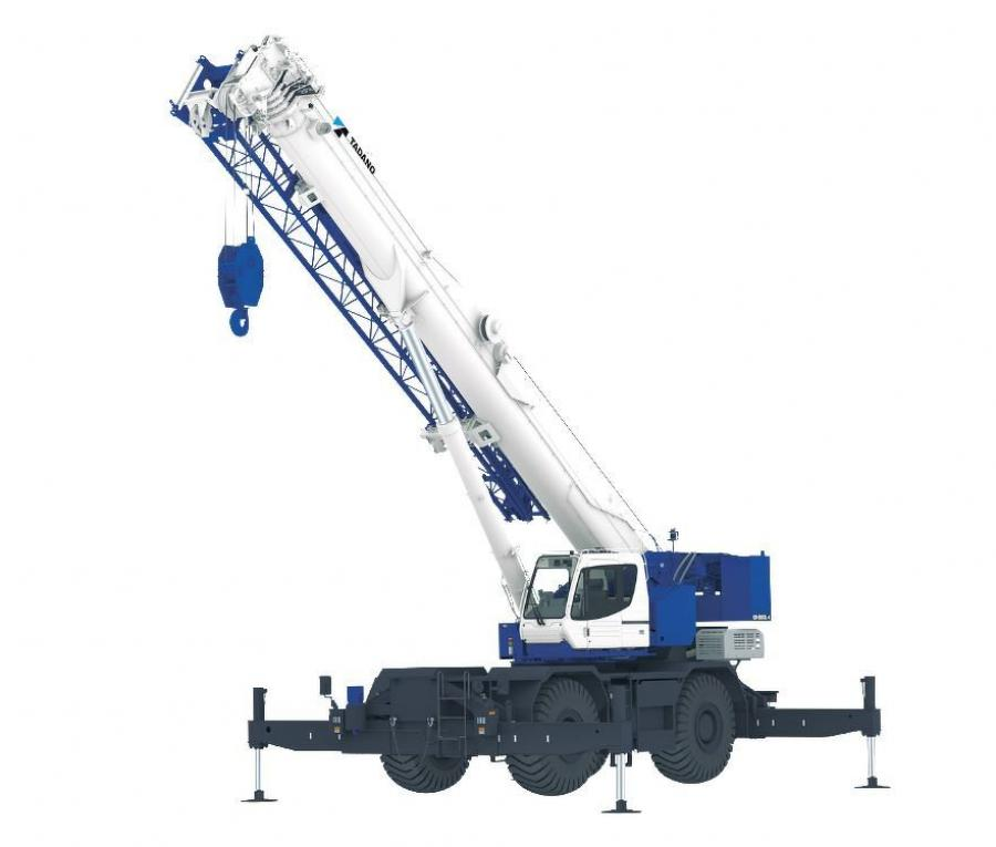 Equipped with the new generation AML-E2 crane control system, the GR-800XL-4 has a gross vehicle weight of 99,800 lbs. (45,268.5 kg) for easy transportability and a newly-improved cab design for more efficient operation.