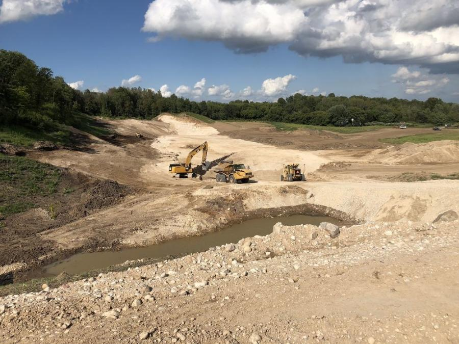The Wisconsin Department of Transportation's WIS 23 Expansion, a considerable investment that covers the highway from Plymouth to Fond du Lac is divided into three sections — two rural and one urban — and last May, Relyco Inc. began construction on the first rural section. (Relyco Inc. photo)
