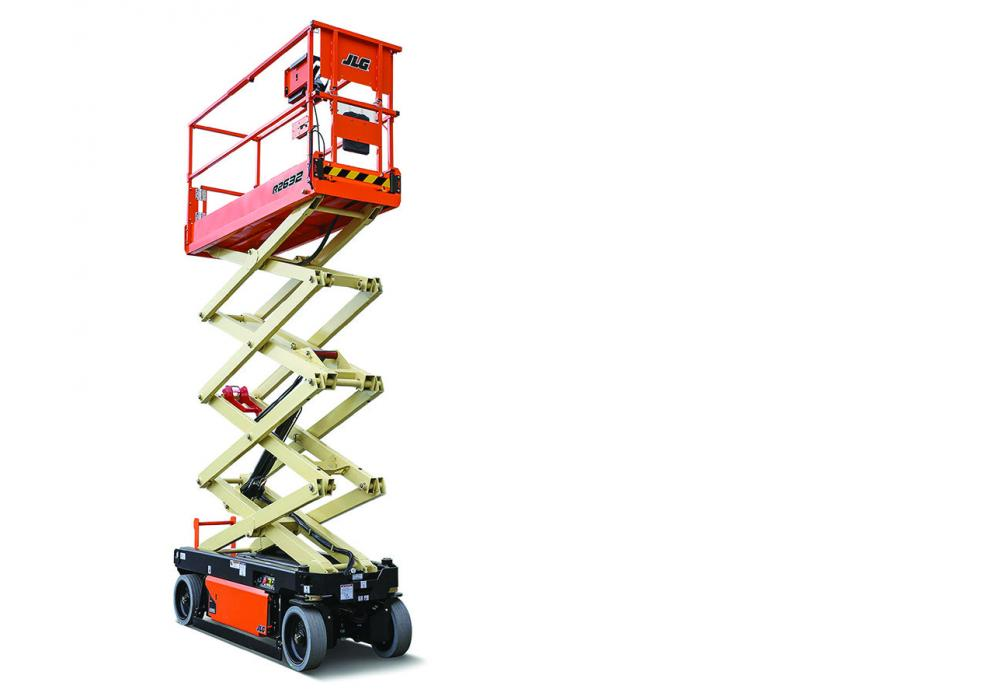 Its narrow 32 in. width allows the R2632 to easily maneuver through a single doorway, while its zero-turn radius makes it easy to position, particularly in tight workspaces.