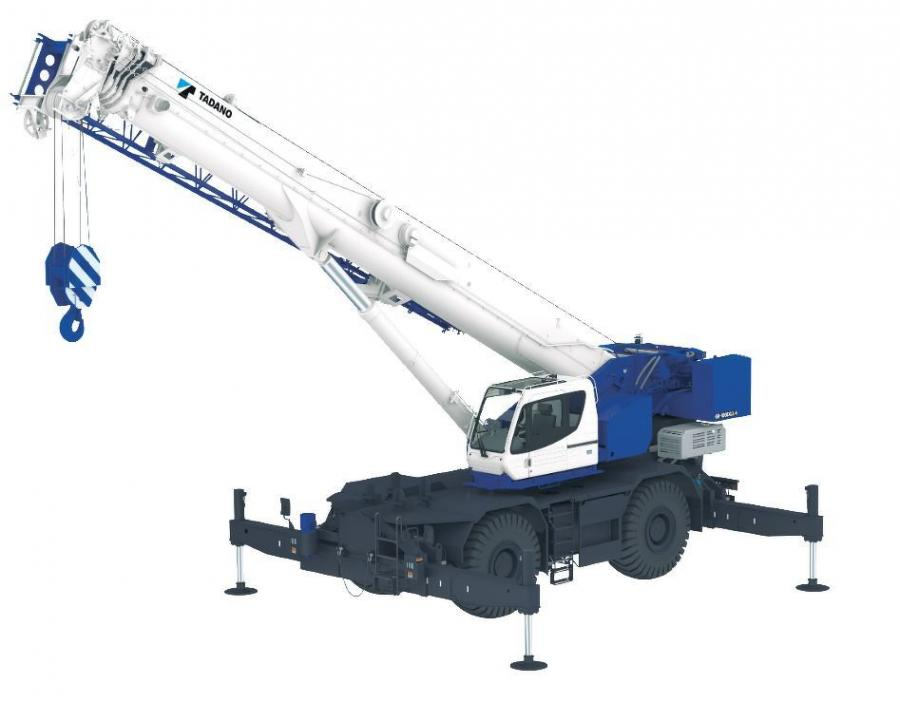 The GR-1000XLL-4 features a longer boom of 167.3 ft. (51 m) compared to the 154.2 ft. (47 m) boom length of its predecessor, the GR-1000XL-3.