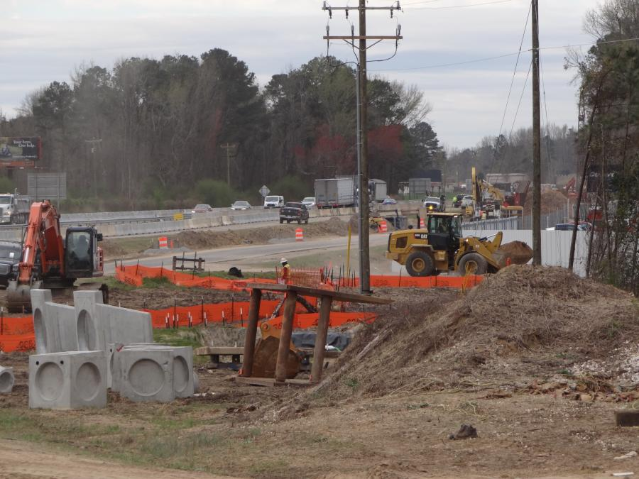The Feb. 9 closure of the Long Branch Road bridge (Exit 71) over Interstate 95 marked the first stage of NCDOT's $404M project to widen I-95 from Raleigh to Fayetteville.