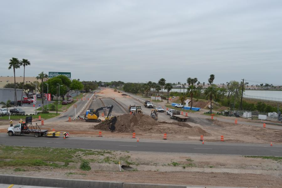 This project is replacing the six-lane I-2 underpass at Bicentennial Boulevard.