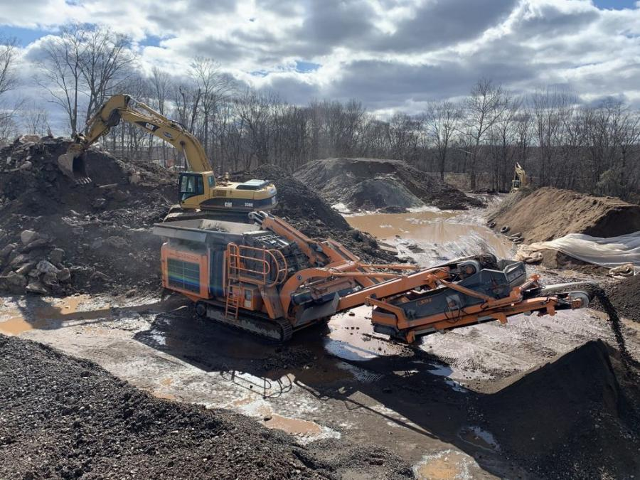 Mjolnir Construction purchased a Rockster R1100 closed circuit portable impact crusher and has set up two recycling sites to receive materials, one in Portland, Conn., and the other in Tolland, Conn.