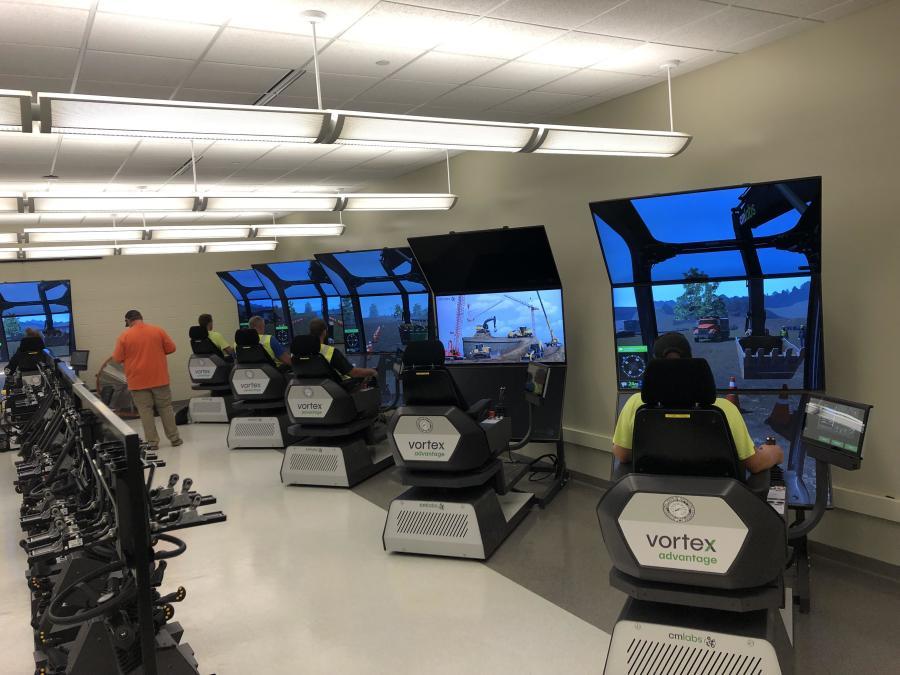 Simulator classroom