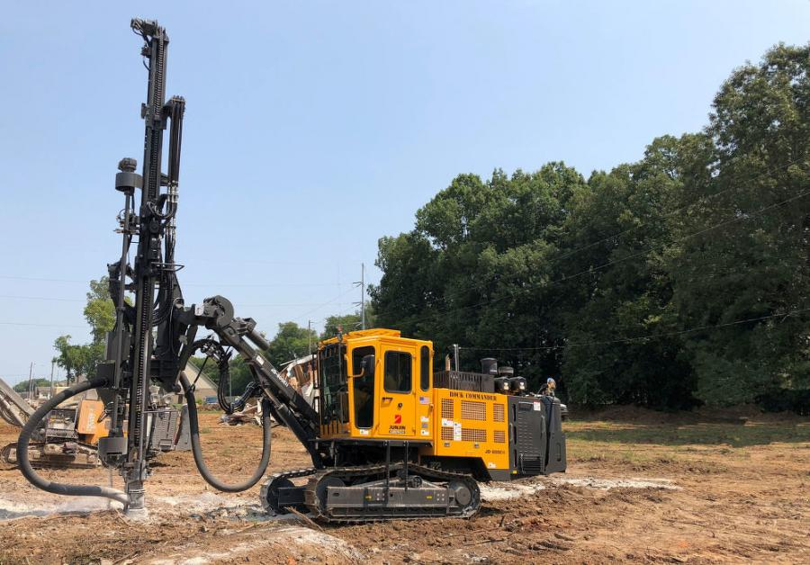 Larmee Equipment is a leader in used rock drill sales and now, with the Rock Commander line, has secured a significant portion of the new drill sales in the 