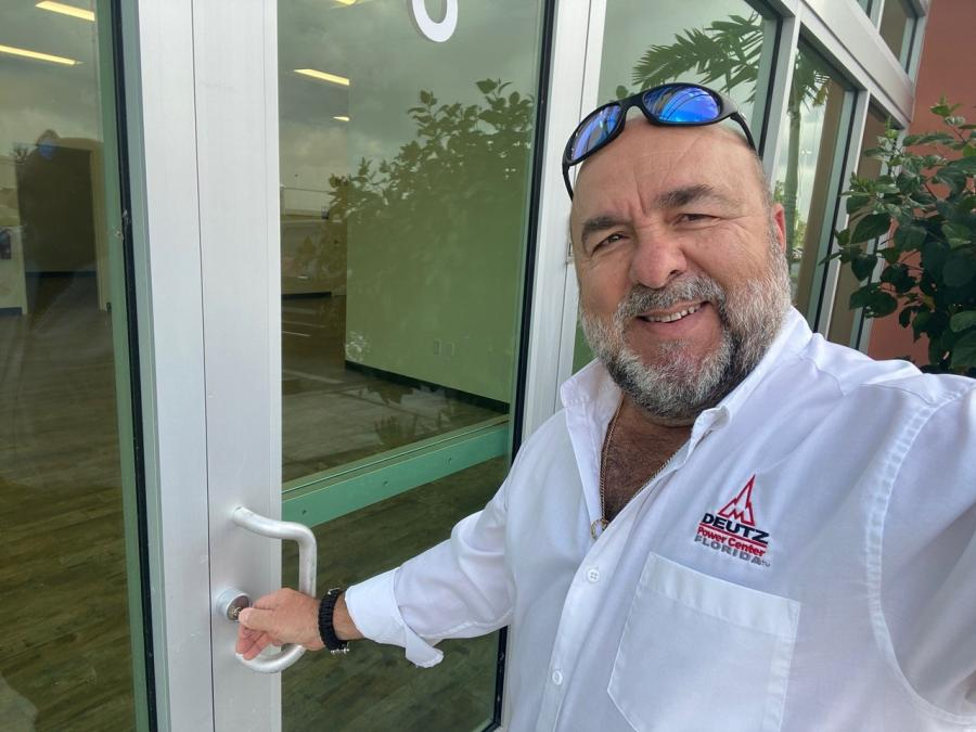 Deutz Power Center Florida's Branch Manager Roberto Nieto comes to Deutz with a wealth of experience in South Florida's equipment sales and service industry.