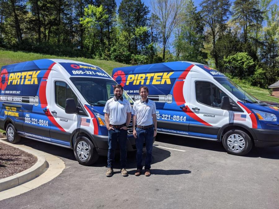 PIRTEK Knoxville's owners Drew and Kyle Roschli