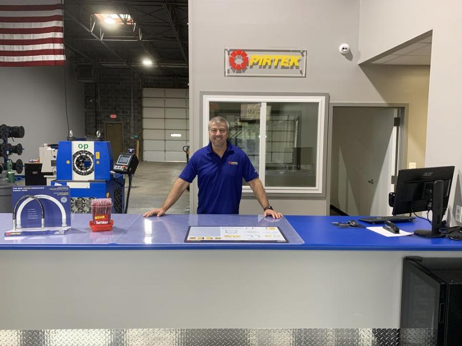 David Entwistle's new PIRTEK Service & Supply Center is located at 9213 Hampton Overlook, Capitol Heights, Md 20743.