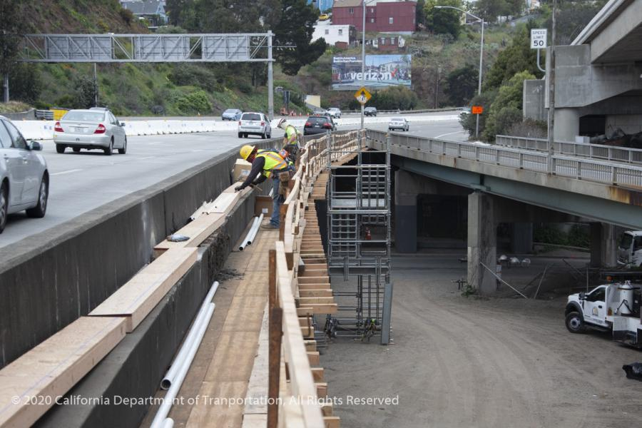 This project is a priority for Caltrans to maintain one of the Bay Area's most heavily travelled corridors, connecting the Peninsula to downtown San Francisco.