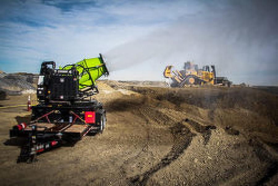These patented machines are remote control operated, can achieve a maximum throw distance of 300 ft., and feature adjustable settings capable of controlling an area of up to 196,000 sq. ft.
